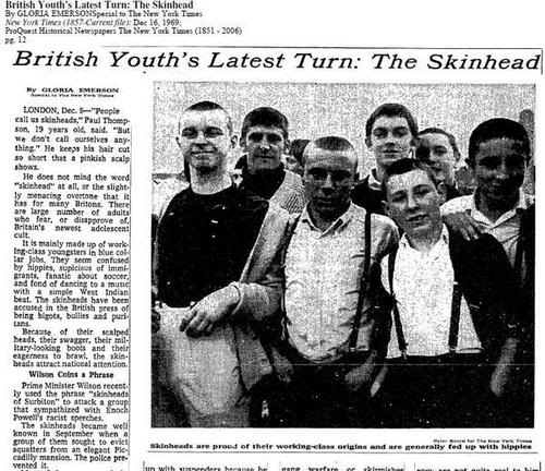 Skinheads – My chosen subculture. – charlottemartindesigns